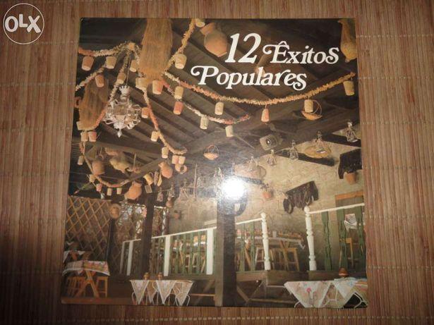 Vinil LP 12 êxitos populares