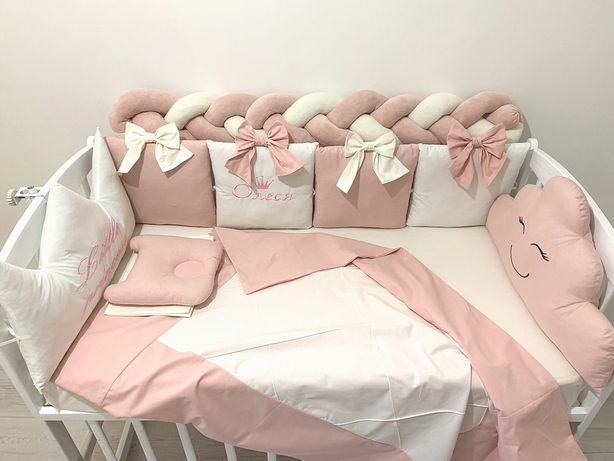 Бортики подушечки, защита в кроватку