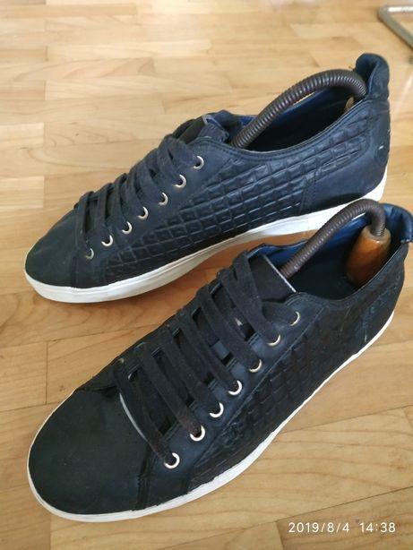 Czarne buty Zara Man