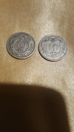 Moneta 10 Heller Austria 1893 r. - 1909 r. 2 Monety
