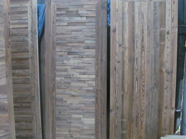 Drzwi,stół, blat,stare deski ,meble ze starego drewna ,stare drewno