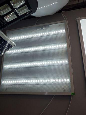 Светодиодный светильник призматик 36 Вт 600х600мм
