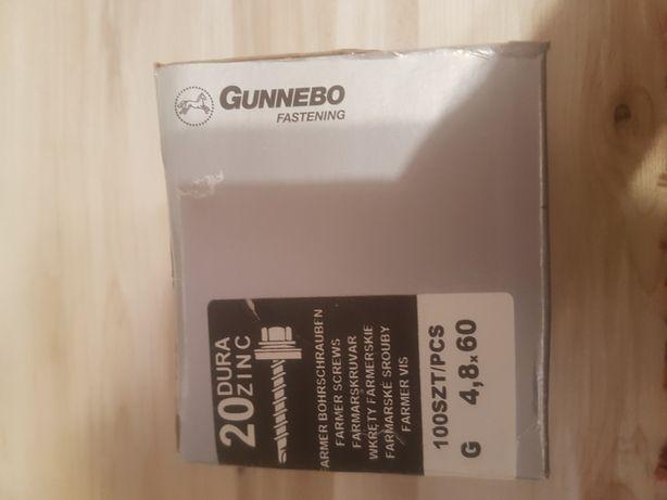 Wkręty farmerskie Gunnebo 4,8x60 100sztuk