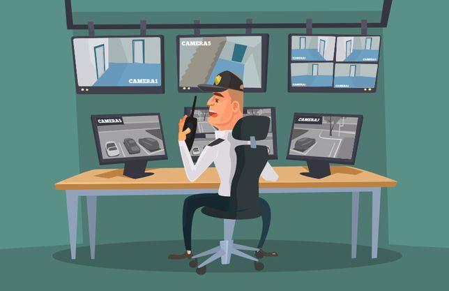 Monitoring CCTV Monitoring Firmowy Monitoring Domowy FAKTURA VAT