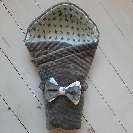 Конверт на выписку/одеяло в коляску с капюшоном