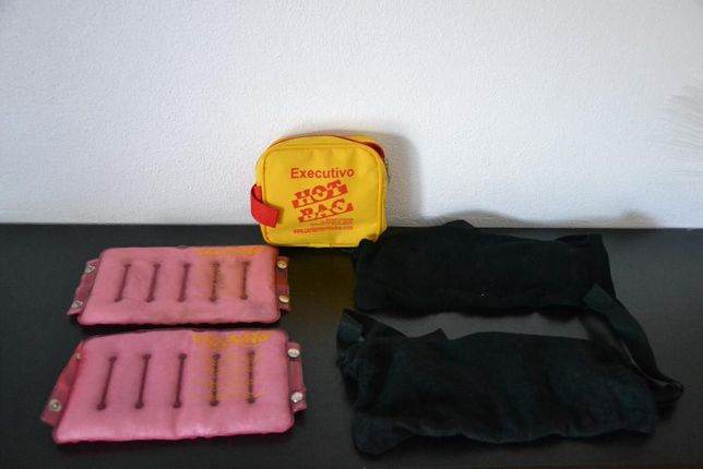Almofadas tratamento térmico aquecem sozinhas reutilizáveis
