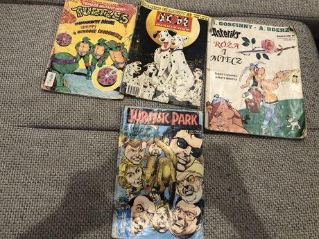 Sprzedam komiksy ze zdjęcia