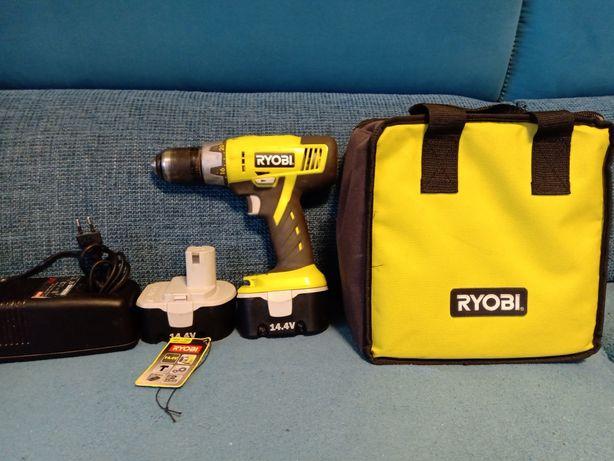 Wkrętarka Ryobi 14,4V z udarem 2 akumulatory