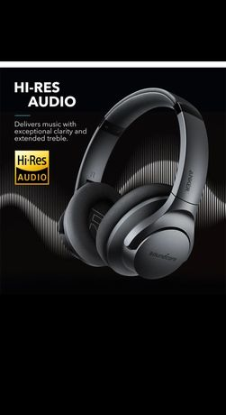 Bluetooth наушники Anker Soundcore Life Q20 Hybrid 2 с шумоподавлением