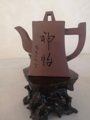 """Продам китайский чайник из коллекции. Исинская глина, форма """" Фан ху """""""