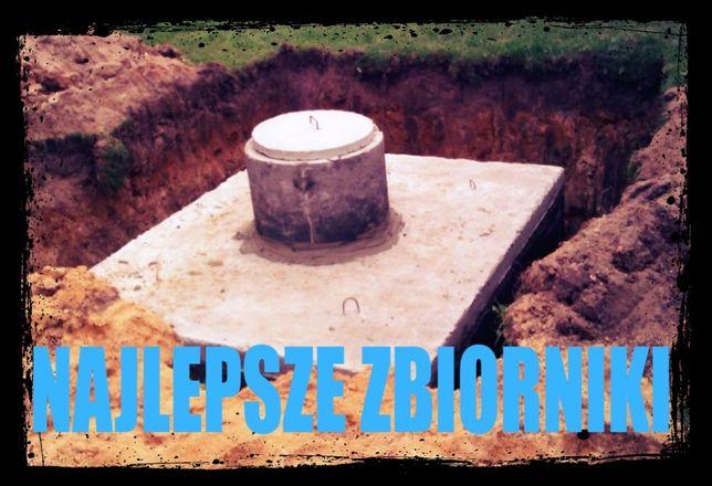 szambo 5m3 zbiornik na wodę piwnica betonowa szamba kanał