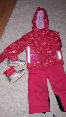 Куртка Lupilu,полукомбинезон,сапожки. Зима