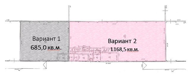 Аренда склад в г. Белгород-Днестровский 685,0 - 1168,5 кв.м.
