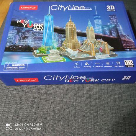 Puzzle  3d News york city