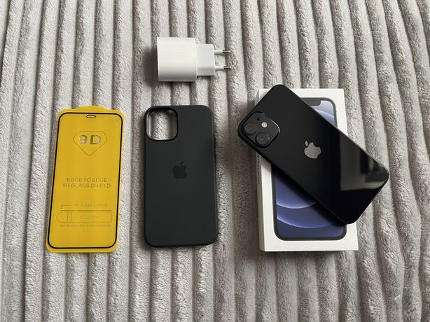 iPhone 12 Mini 64GB + etui Apple MagSafe + ładowarka (zamiana)