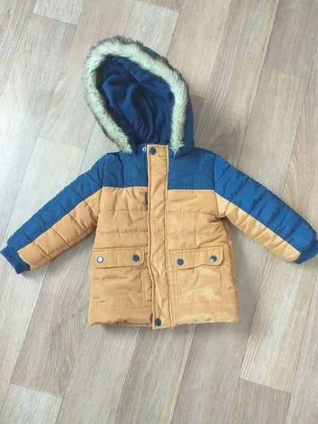 Куртка на мальчика теплая зима/холодная весна Польша