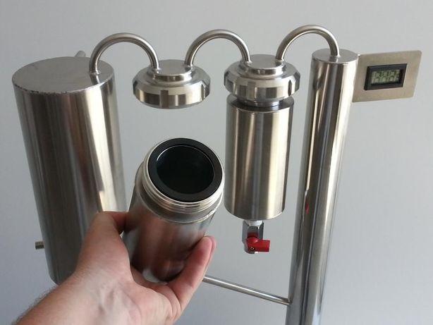 destylator elektryczny destylatory kolumna dwa odstojniki odkręcane