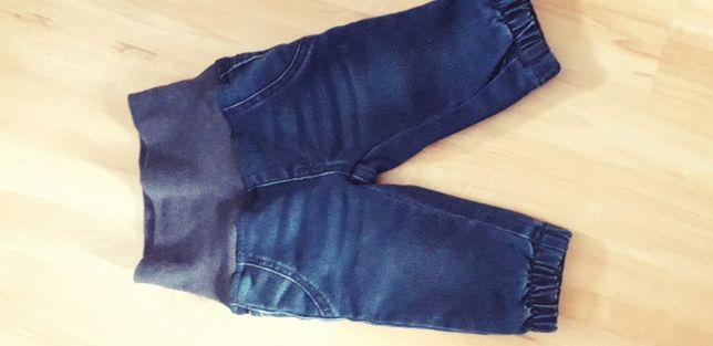 jeans ciepłe 62 impidimpi
