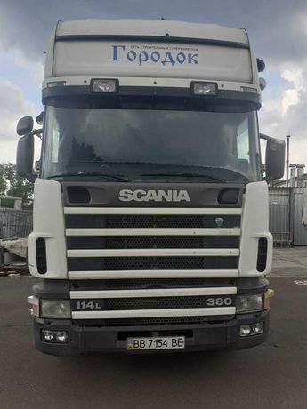 Scania R 114 2000 +прицеп KRONE ZZP18