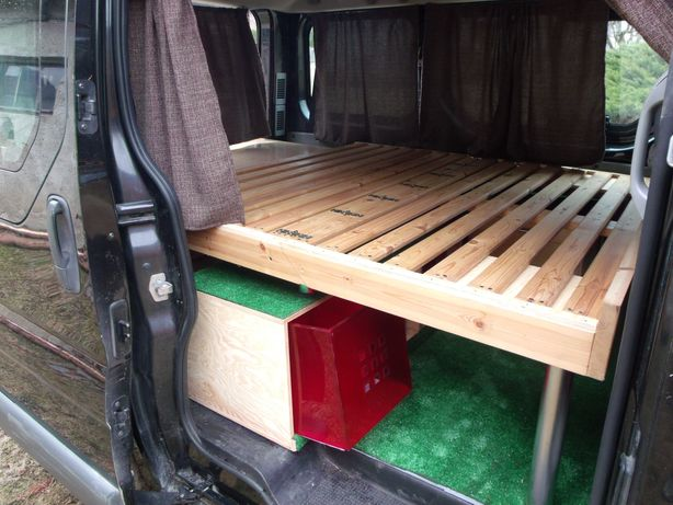Zabudowa do kampera Trafic Vivaro,Primastarkamping,camping van
