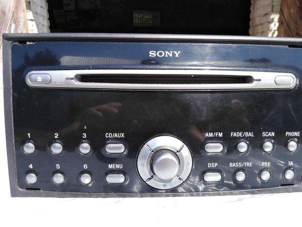 Radio SONY Ford Focus C-max Z KODEM