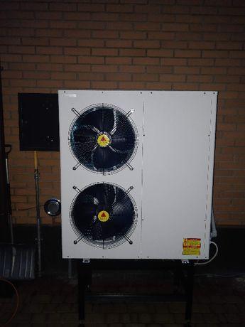 Тепловой насос воздух-вода под ключ и скидкой