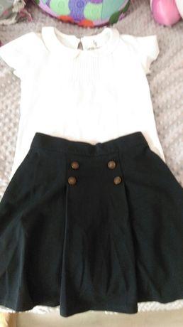Zestaw spodniczka i bluzka