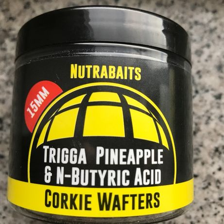 Nutrabaits Trigga Pineapple & N' Butyric Corkie Wafters 15mm