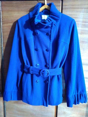 Куртка пальто драповое полупальто демисезонное в отличном состоянии 48
