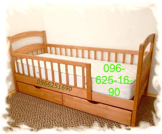 """""""Карина Люкс""""-детская кровать односпальная с бортами.Акция набора"""