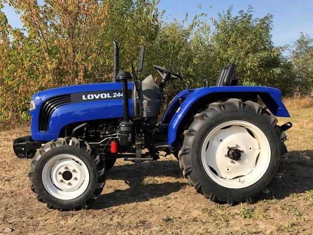 Трактор мини трактор Ловол Lovol 24-50 к.с., віл ІМПОРТЕРА вся лінійка