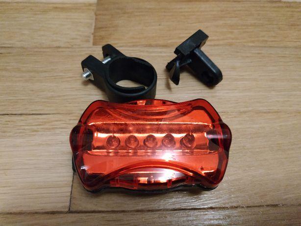 Велосипедный задний фонарь, мигалка, стоп