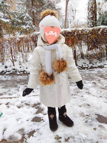 Продам пухове пальто 2-3-4  роки