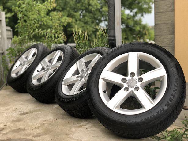 Диски R16+зимова резина 205/60R16 5*112 Audi Volkswagen Skoda Seat