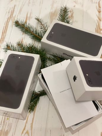 Новий iPhone 7 Plus 128 GB Black/Jet Black/Gold/Silver/Rose Gold/Red