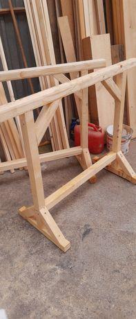 Kozły Budowlane/ nogi do stołu Drewniane