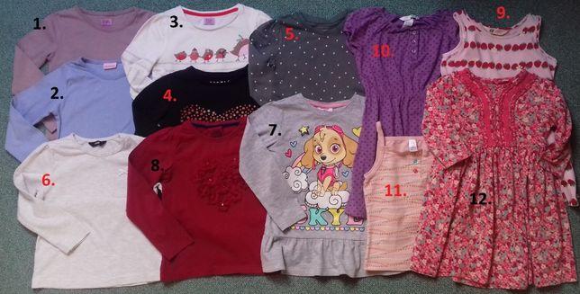 Bluzeczki-tuniki-sukienki-sweterki-katana3-4lata,4-5lat,5-6lat PAWSkye