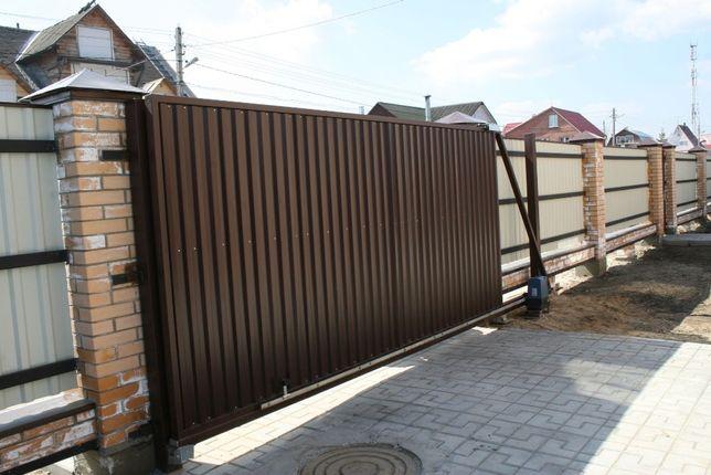 Ворота любого типа, автоматика, решетки, навесы, забор, ограждения.