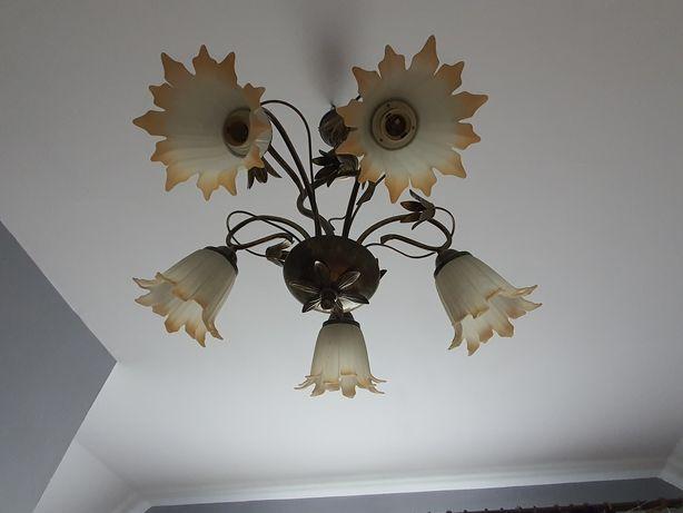 Żyrandol lampa 5 zarowek