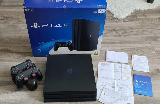Konsola Sony PlayStation 4 Pro Ps4 Pro 1T Model Jet Black CUH-7016B