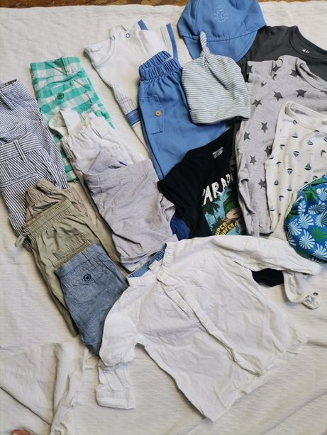 Lote de roupa de MENINO PARA 1-2 anos(80- 82cm)