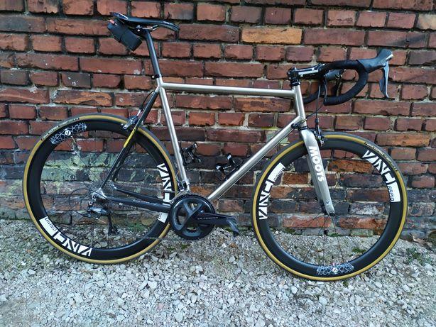 Rower tytanowy Van Tuyl XL 7.9 kg Ultegra
