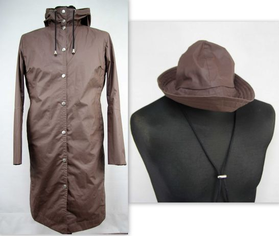 Ilse Jacobsen płaszcz przeciwdeszczowy + kapelusz rozmiar L