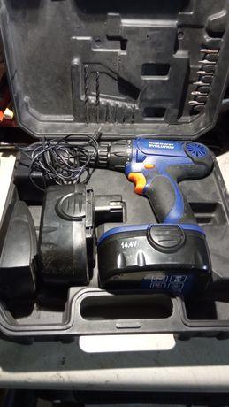 Sprzedam Wkrętarka akumulatorowa Nupower 14,4v 2x akumukator