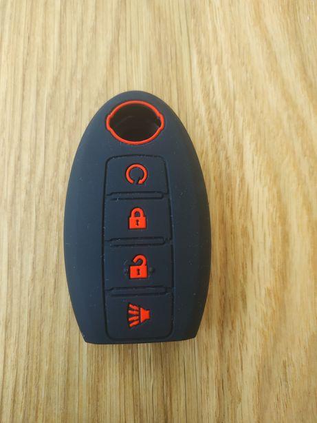 бесплатная доставка Накладка ,чехол на ключ nissan силиконовый