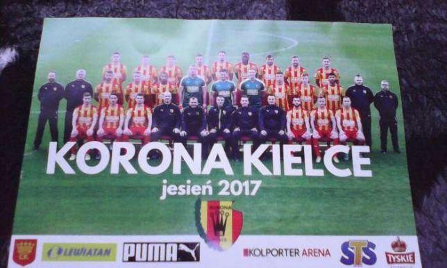 zdjęcie plakat Korona Kielce 2017 jesień