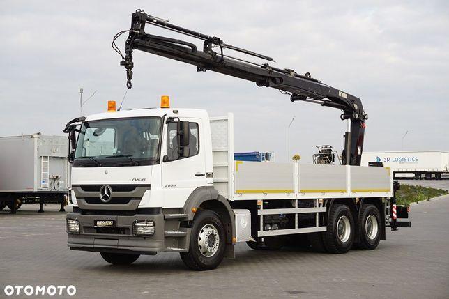 Mercedes-Benz / Axor / 2633 / E 5 / 6 X 4 / Skrzyniowy + Hds Hiab