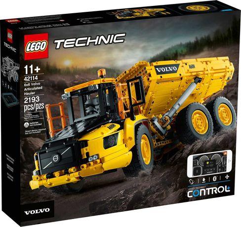 LEGO 42114 Technic - Wozidło przegubowe Volvo 6x6. NOWE. Stan idealny