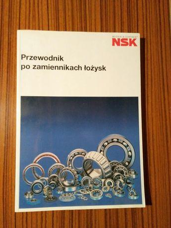 Katalogi łożysk NSK + książka Przewodnik po zamiennikach łożysk