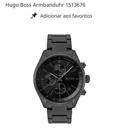 Relógio Hugo Boss novo modelo com fatura e 2 anos de garantia